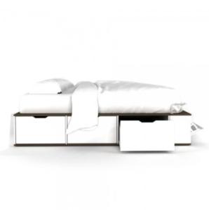cama con cajones una plaza