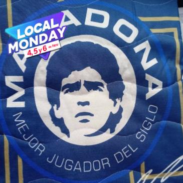 Cover Maradona Azul y Blanco