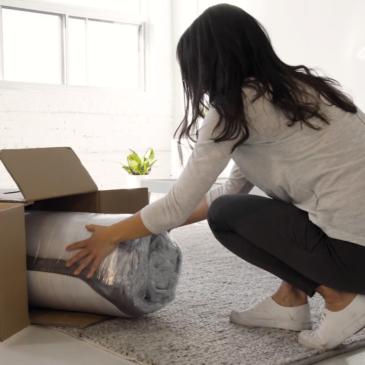 Colchón en caja. ¡Mirá que fácil es tener tu nuevo colchón!