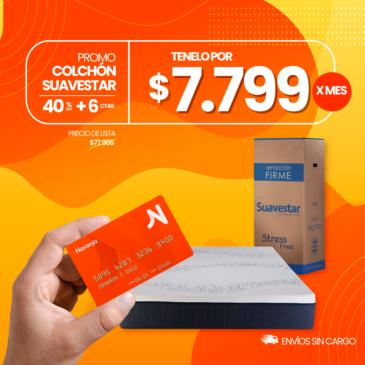 Colchon Stress Free Box 2 plazas 140×190